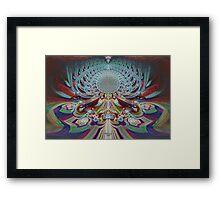 'Etheric Lotus' Framed Print