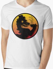 Civilized Kombat Mens V-Neck T-Shirt