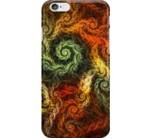 Spirals Of Yarn iPhone Case/Skin