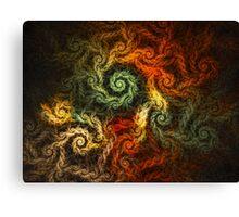 Spirals Of Yarn Canvas Print