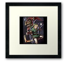 The Hero of Hyrule Framed Print