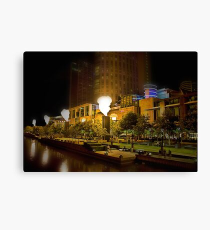 Crown Promenade Canvas Print