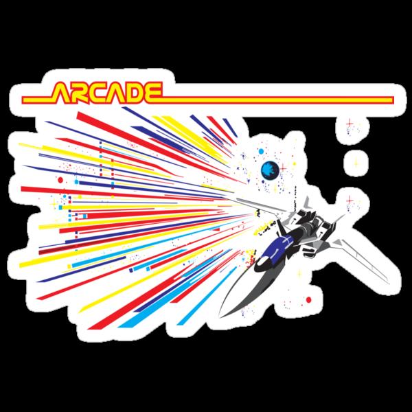 Retro Arcade by block33