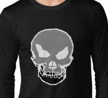 Evil Skull Brain-Loading Long Sleeve T-Shirt