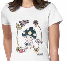 Mushroom Baby / きのこちゃん Womens Fitted T-Shirt