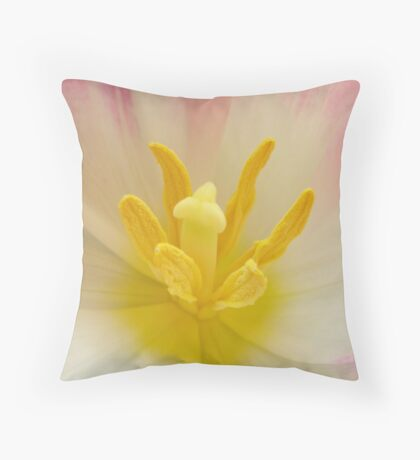 Tulip Closeness Throw Pillow