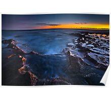 Anglesea Sunset Poster