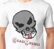 Dead Trend Evil Skull-Bloody Chin Unisex T-Shirt