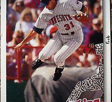358 - Scott Leius by Foob's Baseball Cards