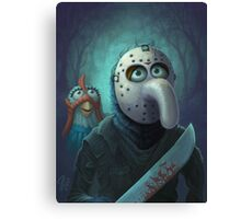 Muppet Maniacs - Gonzo Voorhees Canvas Print