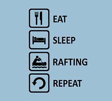 White Water Rafting Eat Sleep Repeat T-Shirt