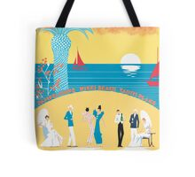 St. Tropez Classic Vintage Travel Poster Tote Bag