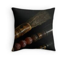Chinese Paint Brushes Throw Pillow