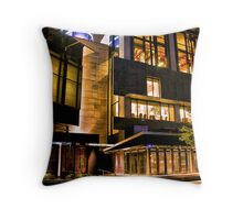 Crown Entertainment Complex Throw Pillow