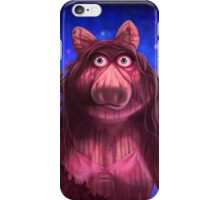 Muppet Maniacs - Ms. Piggy as Carrie iPhone Case/Skin