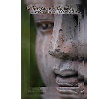 Shine Buddha © Vicki Ferrari Photography Photographic Print
