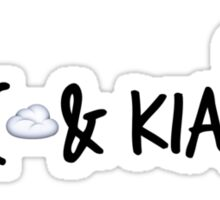 Jc & Kian  Sticker