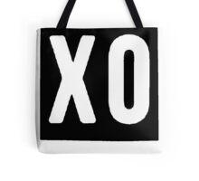 XO Square [Black] Tote Bag