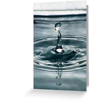 Water Sculpture: The Orator Greeting Card
