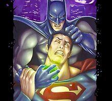 Batman vs Superman by artbyjp