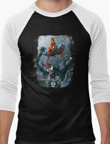Spidey Games Men's Baseball ¾ T-Shirt