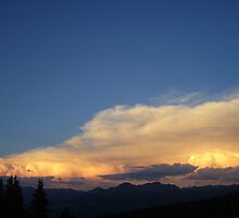 Storms Building in the Distance by LostJourney