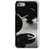 Olympic Weight Training in Dark Shadow iPhone Case/Skin
