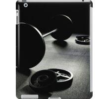 Olympic Weight Training in Dark Shadow iPad Case/Skin