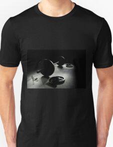 Olympic Weight Training in Dark Shadow Unisex T-Shirt