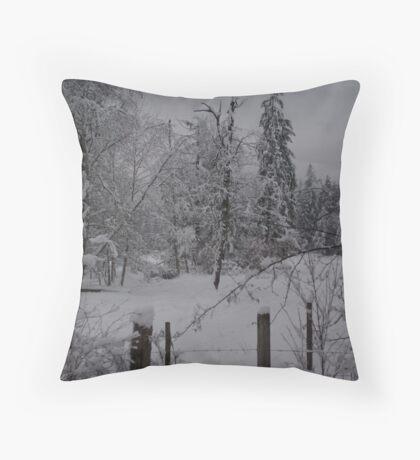 White Christmas 4 Throw Pillow