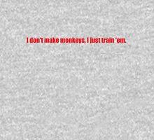 Pee-Wee Herman - I Don't Make Monkeys - Red Font T-Shirt