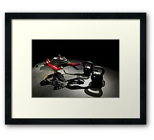 Sport Training Equipment For Serious Athletes Framed Print