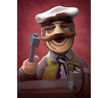 Muppet Maniacs - Swedish Chef as Leatherface Photographic Print