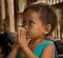 Boy at Little Angel's Orphanage by Adrianne Yzerman