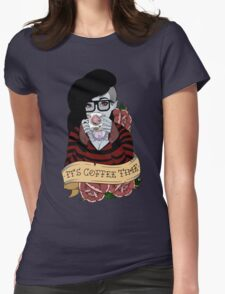 Adventure Time - It's Coffee Time (Marceline) Womens Fitted T-Shirt