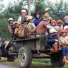 Coffee plantation workers in Southern Vietnam by bfokke