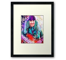 Mad March Framed Print