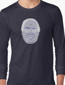 Pierce Hologram - Community - Chevy Chase Long Sleeve T-Shirt