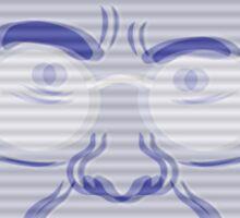 Pierce Hologram - Community - Chevy Chase Sticker