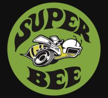 Superbee (green background) by TheScrambler