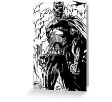 All Star Batman Greeting Card