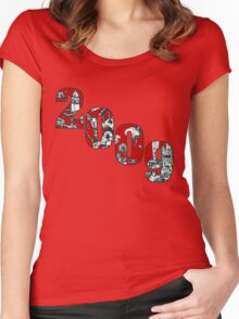 2009 inkie_1 Women's Fitted Scoop T-Shirt