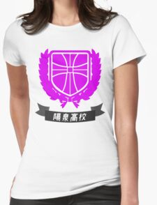 Yosen Highschool - Kuroko's Basketball Womens Fitted T-Shirt