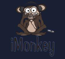 iMonkey Tee (text) Kids Tee