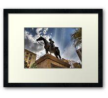 Boer Equestrian Framed Print