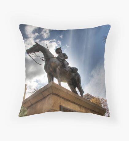 Boer Equestrian Throw Pillow