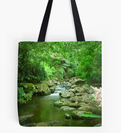 Hanging out at Picnic Rock Tote Bag