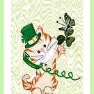 Kitty on St.Patrick's day (1508 Views) by aldona