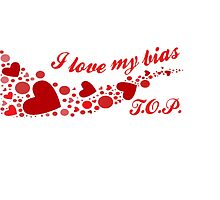 I LOVE MY BIAS SWIRL - T.O.P. by Kpop Seoul Shop