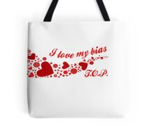 I LOVE MY BIAS SWIRL - T.O.P. Tote Bag